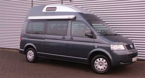 T5 LR Caravelle mit Polyroof Hochdach